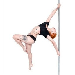 deadlift pole dance figura taneczna
